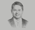 Sketch of Ernesto R Alberto, Executive Vice-president and Chief Revenue Officer, PLDT; and President and CEO, ePLDT