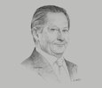 Sketch of Pablo Escandón Cusi, President, Mexican Health Foundation, on the need for public-private partnerships (PPPs)