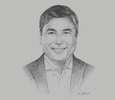 Sketch of Guilherme Loureiro, Executive President and CEO, Walmart México