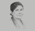 Sketch of Shamshad Akhtar, Former Under-Secretary-General, UN; and Executive Secretary, UN Economic and Social Commission for Asia and the Pacific