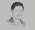 Sketch of Vitai Ratanakorn, Secretary-General, Government Pension Fund (GPF)