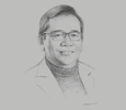 Sketch of Bundit Sapianchai, President and CEO, BCP