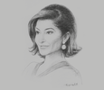 Sketch of Nishita Shah Federbush, Group Managing Director, GP Group