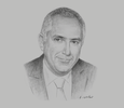 Sketch of Luis Marchese, President, National Society of Mining, Petroleum and Energy; and Country Manager, AngloAmerican