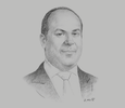 Sketch of Juan Carlos Salem Suito, General Manager, SANNA