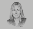 Sketch of Silvia Tenazinha, Country Manager, Almundo