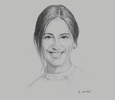 Sketch of Florencia Davel, CEO, Bristol-Myers Squibb Argentina, Chile and Peru