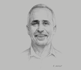 Sketch of Paul Abbot, CEO, PNG Air