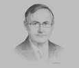 Sketch of Alan Bollard, Executive Director, APEC Secretariat