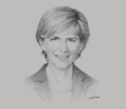 Sketch of Julie Bishop, Former Minister of Foreign Affairs of Australia