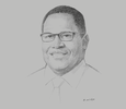 Sketch of Hulala Tokome, Chairman, National Superannuation Fund