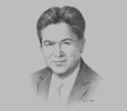 Sketch of Mark Loquan, President, National Gas Company (NGC) of Trinidad and Tobago