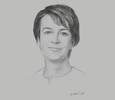 Sketch of Claire Fitzpatrick, Regional President, BP Trinidad and Tobago (BPTT)