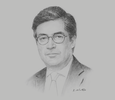 Sketch of Luis Alberto Moreno, President, Inter-American Development Bank