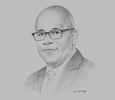 Sketch of Hadyn Gittens, CEO, Trinidad and Tobago Securities and Exchange Commission (TTSEC)