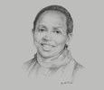 Sketch of Agnes Kalibata, President, Alliance for a Green Revolution in Africa
