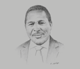 Sketch of Gitahi Gachahi, CEO, EY Eastern Africa