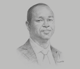 Sketch of Kenneth Kaniu, CEO, Britam Asset Managers