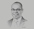 Sketch of Joshua Oigara, CEO and Managing Director, KCB Group