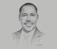 Sketch of Peter Munya, Cabinet Secretary, Ministry of Industry, Trade and Cooperatives