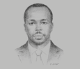 Sketch of Godfrey K Kiptum, Commissioner of Insurance; and CEO, Insurance Regulatory Authority (IRA)