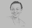 Sketch of Carole Kariuki, CEO, Kenya Private Sector Alliance
