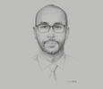 Sketch of Ramiss Houmed, Managing Director and Owner, HLB Djibouti