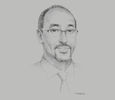 Sketch of Osman Abdi Mohamed, Director-General, National Tourism Office of Djibouti