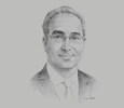 Sketch of Nadhir Zouaghi, President, Professional Association of Credit Institutions