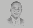 Sketch of Alhaji Muhammadu Bagudu Hussaini, Managing Director and CEO, Nicon Insurance