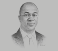 Sketch of Kayode Akinkugbe, Managing Director and CEO, FBNQuest Merchant Bank