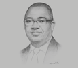 Sketch of Abubakar Jimoh, Managing Director and CEO, Coronation Merchant Bank
