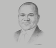 Sketch of Peter Ashade, CEO, United Capital