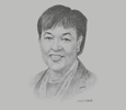 Sketch of Patricia Scotland, Secretary-General, Commonwealth