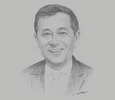 Sketch of Li Jian, Assistant President, China State Construction Engineering Corporation (CSCEC); and Chairman, CSCEC Algeria