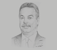Sketch of Abdelwahid Temmar, Minister of Housing and Urban Planning