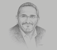 Sketch of Amine Sekhri, Country Manager, Roche Algérie