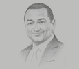 Sketch of Hesham Mekawi, Regional President, BP North Africa