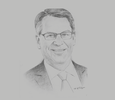 Sketch of Richard Lesser, CEO, Boston Consulting Group
