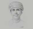 Sketch of Yaqoob bin Saif Al Kiyumi, CEO, Oman Power and Water Procurement Company (OPWP)