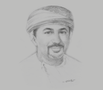Sketch of Salaam Said Al Shaksy, Member of the State Council; and CEO, Alizz Islamic Bank