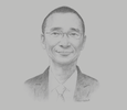 Sketch of Patrick Ip, Managing Director, China-ASEAN Investment Cooperation Fund