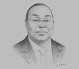 Sketch of Tiémoko Meyliet Koné, Governor, Central Bank of West African States