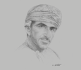 Sketch of Bader Al Nadabi, Vice-chairman and Co-founder, Al Sarh Group
