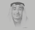 Sketch of Sameer Nass, Chairman, Bahrain Chamber of Commerce and Industry (BCCI)