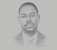 Sketch of Daniel Ogbarmey Tetteh, Director-General, Securities and Exchange Commission (SEC)
