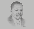 Sketch of Seth Twum Akwaboah, CEO, Association of Ghana Industries