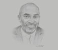 Sketch of Yofi Grant, CEO, Ghana Investment Promotion Centre