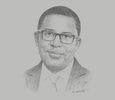 Sketch of Solomon Asamoah, CEO, Ghana Infrastructure Investment Fund (GIIF)
