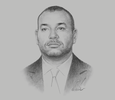 Sketch of His Majesty King Mohammed VI